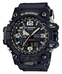 CASIO GSHOCK MASTER OF G MUDMASTER BLACK TRIPLE SENSOR TOUGH SOLAR WAVE CEPTOR MENS WATCH GWG-1000-1ADR