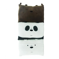 We bare bears plush Folding cushion