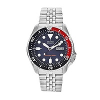 (Seiko Watches) Seiko Men s SKX009K2 Diver s Analog Automatic Stainless Steel Watch-SKX009K2