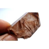紅銅髮白水晶柱.原石原礦.晶簇.擺件