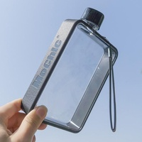 a5扁平水杯tritan紙張水瓶創意運動書型水壺方形便攜戶外健身杯子 英雄聯盟