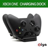 【ZIYA】XBOX ONE 遊戲手把 遙控器手把充電座 座充組合(贈送電池2入)