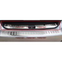 SUBARU XV 速霸陸 斯巴魯XV專用高質感不銹鋼拉絲後內護板, 後保桿護板 內置護板