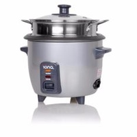 Iona 0.6L Rice Cooker and Warmer with Steamer - GLRC061