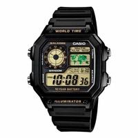 CASIO 十年電力運動時尚數位腕錶/AE-1200WH-1BVDF