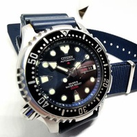 Citizen Promaster NY0040 Discontinued Automatic Blue Dive Watch *No trades