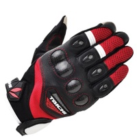 RS-TAICHI RST418 Gloves Cycling Gloves Motorcycle Gloves Black/White/Red