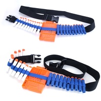 Soft Bullets Belt Shoulder Strap Clip Charger Ammo Storage Bullets For Nerf N-strike Elite Series Gun Accessories Gun Toy