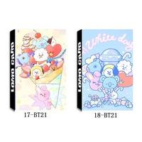 Kpop bts bt21 Paper Lomo Card HD Photocard