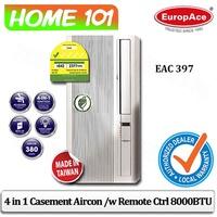 EuropAce Casement Aircon 8000BTU EAC-397