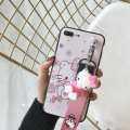 For ViVo V7 / V9 / V7 Plus/ Y71 Fashion Case Soft Cover with sling and Doll