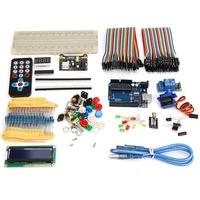UNO R3 บอร์ดการพัฒนา Beginner Upgrade ชุด สำหรับ Arduino