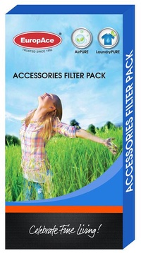 EuropAce EDH 6161T-001 filter pack (HEPA + Carbon)