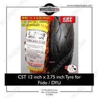 CST 12 inch x 2.75 inch Tyre for FIIDO/DYU