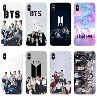 Korean Fashion Iphone case BTS Phone Case for IPhone 5 IPhone 6 IPhone 6plus Iphone 7 IPhone 7plus Iphone 8 IPhone 8plus Iphone X XS MAX XR TPU Case