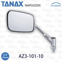 TANAX AZ3-101-10 電鍍 方形 後視鏡 後照鏡 10mm CB1100 CB1300 CB400 W800