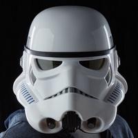 不挑盒況 現貨 星際大戰 黑標 帝國軍士兵變聲頭盔 白兵