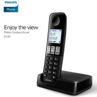 Philips D230 Cordless Phone Cordless phone / frequency: 1.7GHz / LCD: 1.8 inches / Caller / hold