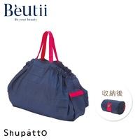 日本SHUPATTO S419 L碼 手提肩背秒收購物包 兩用包 環保袋 購物袋 一秒收納 台灣公司貨 非日本代購