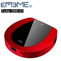 【EMEME】掃地機器人吸塵器 Tulip99 (罌粟紅)《加贈耗材3件組》