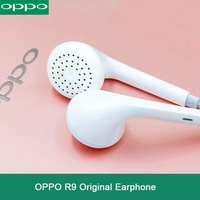 Original Oppo R9 สำหรับ Oppo R15 Oppo ค้นหา X F7 F9 Oppo R17 3.5 มม. ลวด Controller หูฟังสำหรับ Android