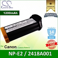 CameronSino Battery for Canon NP-E2 / 2418A001 / Canon EOS-1V / EOS-3 Battery 1200mah CA-NPE2