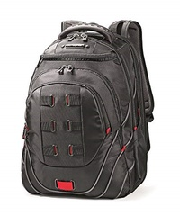 Samsonite Lage Tectonic Backpack, Black/Red