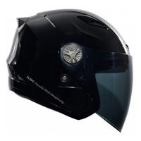 SBK TYPE-R3 III R3 3/4罩 半罩 雙鏡片 安全帽 內襯全可拆  黑