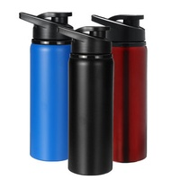700ml Outdoor Portable Water Bottle Stainless Steel Direct Drinking Cup Sports Travel Kettle