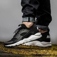 【Dr.Shoes 】819685-016 Nike Air Huarache Ultra 男鞋 黑白 武士 慢跑鞋