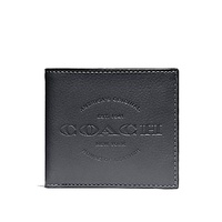 NEW ARRIVAL Coach Men's Double Billfold Wallet 1941 NY House Of Leather (F24647) With Coach Gift Box