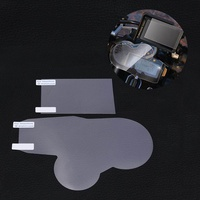 Cluster & GPS Navigator Scratch Protection Film Screen Protector for BMW R1200GS LC 2013-2016