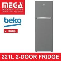 BEKO RDNT250I50VZP 221L 2-DOOR FRIDGE