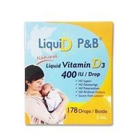 優寶滴 LiquiD P&B 高濃縮天然維生素D3(178滴,5mL)