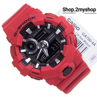 CASIO G SHOCK NEW ARRIVAL ALL RED GA-700-4A AFTER SALE SERVICE AT OUR RETAIL SHOP