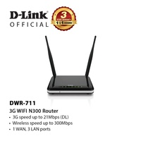 D-Link DWR-711 | 3G Wireless N300 Router
