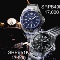 นาฬิกา Seiko Prospex Automatic Samurai Diver's 200M รุ่น SRPB51K1 และ SRPB49K1 เครื่องศูนย์ไซโก้แท้ 💯