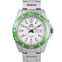 【時間光廊】ORIENT 東方錶 綠水鬼 200M 鋼帶 自動上鏈機械錶 全新原廠公司貨 FEM75006W