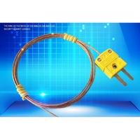 耐高溫度480℃ K型熱電偶 進口玻璃纖維線 進口黃插頭 熱偶線 測溫線 感溫線 TES1310 GM1312