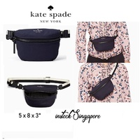 authentic Kate Spade Kate Spade that's the spirit belt bag rich navy pxru8859
