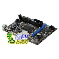 [A美國直購 ShopUSA] MSI 主機板 LGA1155/Intel H61 (B3)/DDR3/A and GbE/MicroATX Motherboard $2140