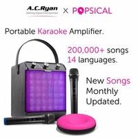 AC RYAN KARAOKE BOOMBOX+ WITH POPSICAL TV KARAOKE PLAYER