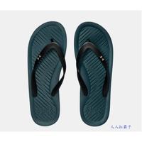 優惠價 UA 男生 拖鞋 Atlantic Dune 人字拖 夾腳拖鞋 1252506-302 深藍綠