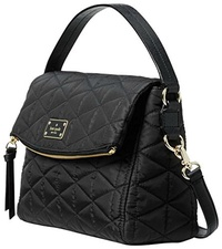 [KATE SPADE NEW YORK] Kate Spade Wilson Road Quilted Miri Black Nylon Cross Body Bag Women s Handbag
