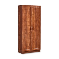 Nina 2 Door Tall Shoe Cabinet (FREE DELIVERY)(FREE ASSEMBLY)