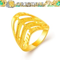 916 gold ring pure gold ring