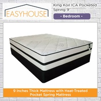"""King Koil ICA Pocketed Spring 9"""" Mattress 