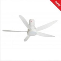 KDK U60FW (long rod) Remote Ceiling Fan (White)