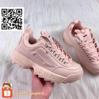 Fila Disruptor II 2 Low-Top Sneakers Shoes Sneaker Shoe Women Pink