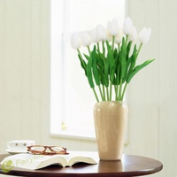 ㊕SG㊕Fashion Simulation PU Tulip Flowers Wedding Home Decoration